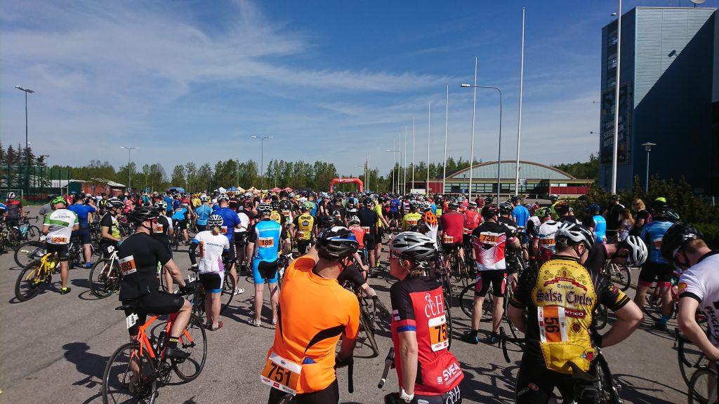 Giro starting line