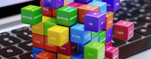 Programming languages cubes