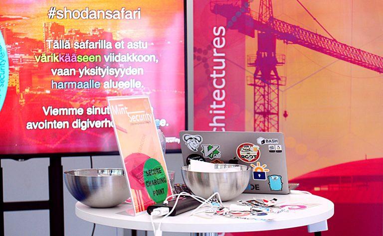 #shodansafari stand