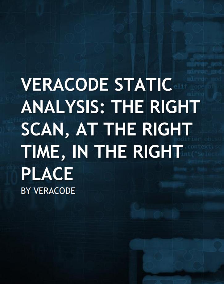 Veracode SAST whitepaper