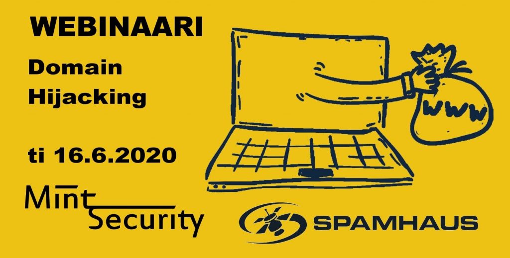 16.6.2020 Domain Hijacking Webinar Spamhaus