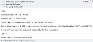 How a malicious email looks to an end userHow-a-malicious-email-looks-to-an-end-user