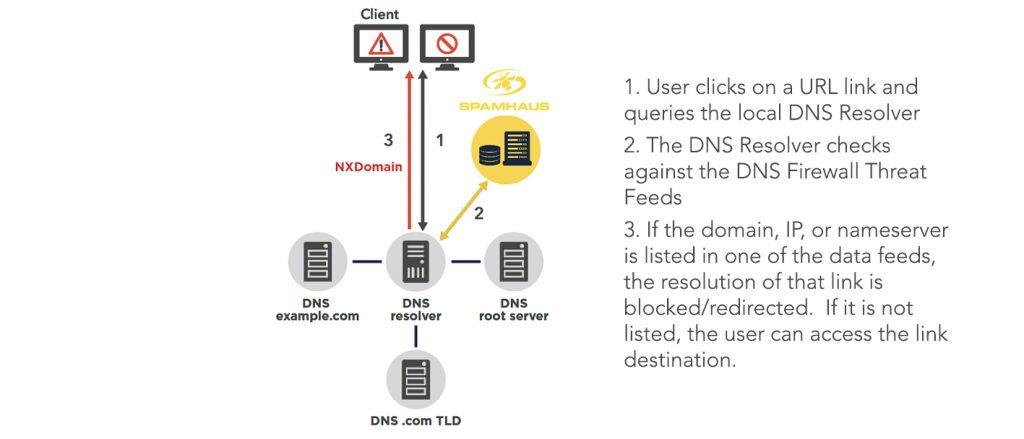 DNS Firewall Diagram Details