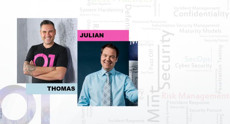 Julian and Thomas